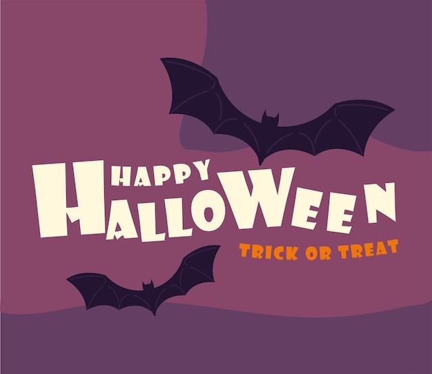 Wesołego halloween plakat