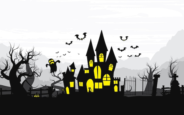 Wesołego halloween tła, halloween.