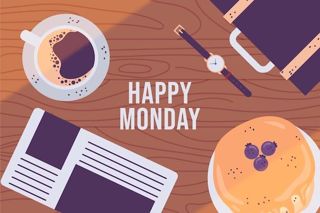 Wesołego poniedziałku - tło