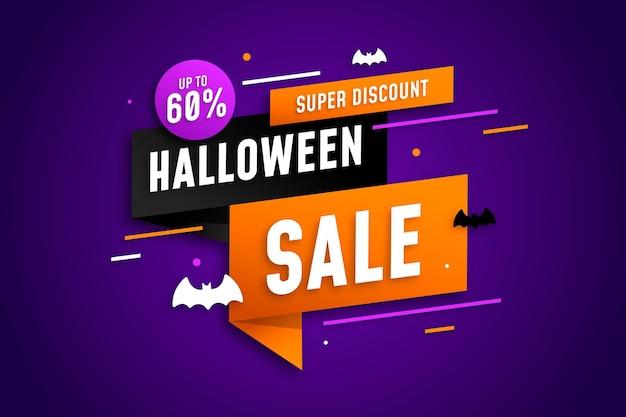 Wesołej sprzedaży halloween