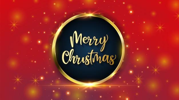 Wesołych świąt bożego narodzenia czerwone tło