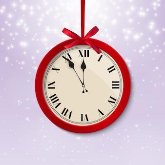 Wesołych świąt bożego narodzenia i nowego roku tło.