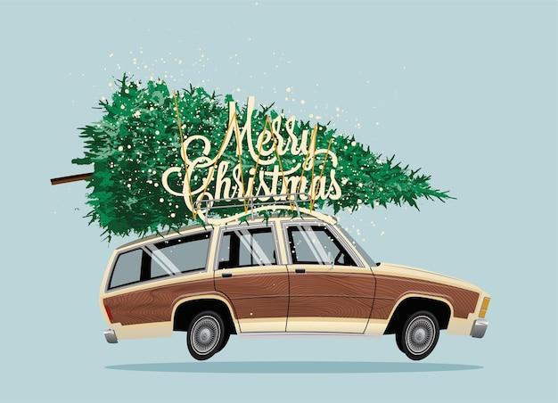 Wesołych świąt bożego narodzenia ilustracja koncepcja