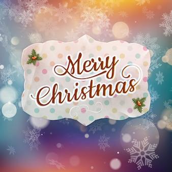 Wesołych świąt bożego narodzenia kartkę z życzeniami. plik w zestawie