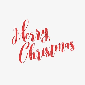 Wesołych świąt bożego narodzenia kartkę z życzeniami z napisem, typografią.