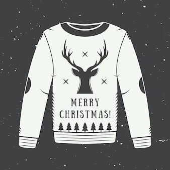Wesołych świąt bożego narodzenia logo, godło