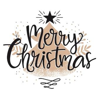 Wesołych świąt bożego narodzenia napis motyw