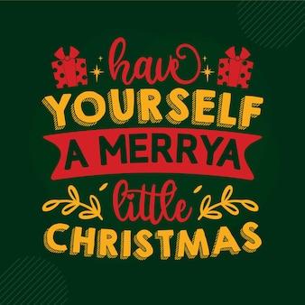 Wesołych świąt bożego narodzenia napis premium wektorów