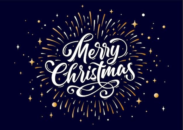 Wesołych świąt bożego narodzenia pozdrowienie projekt