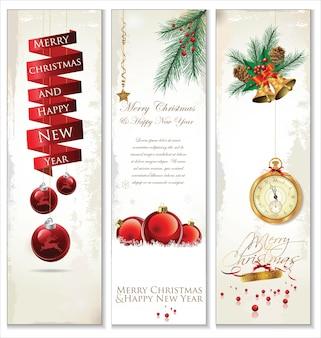 Wesołych świąt bożego narodzenia retro transparent