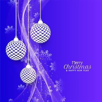 Wesołych świąt bożego narodzenia tło obchodów festiwalu