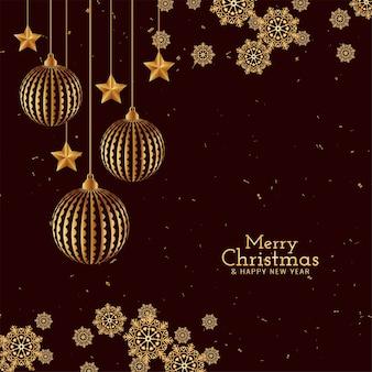 Wesołych świąt bożego narodzenia tło powitanie festiwalu
