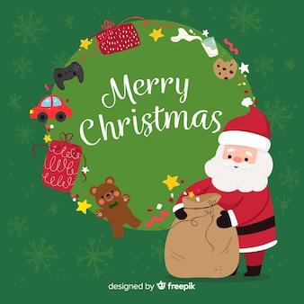 Wesołych świąt bożego narodzenia tło