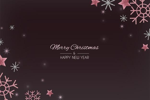 Wesołych świąt bożego narodzenia tło.