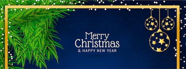 Wesołych świąt bożego narodzenia transparent