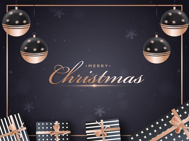Wesołych świąt bożego narodzenia.