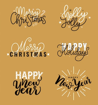 Wesołych świąt, cytat holly jolly, szczęśliwego nowego roku