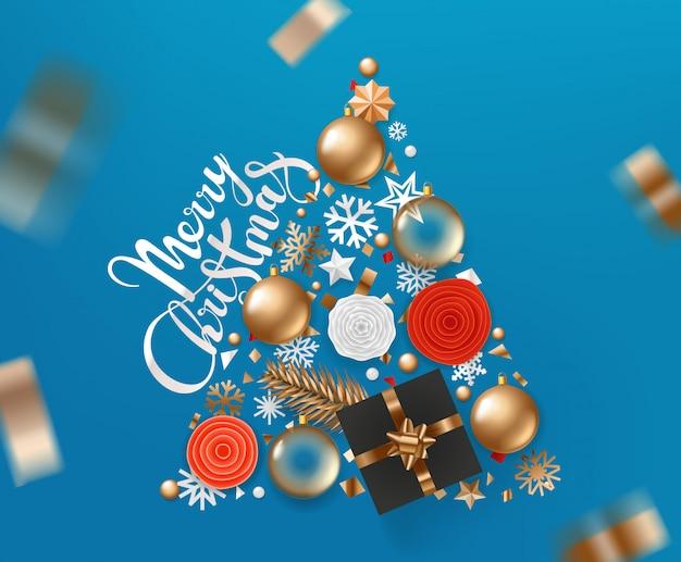 Wesołych świąt i szczęśliwego nowego roku 2020 kartkę z życzeniami