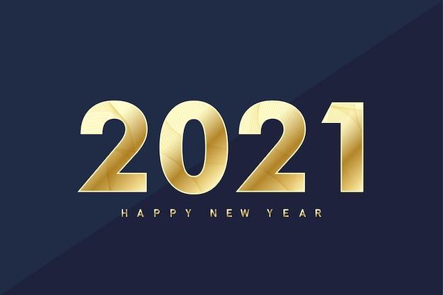 Wesołych świąt i szczęśliwego nowego roku 2021 kartkę z życzeniami. ilustracji wektorowych