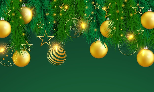 Wesołych świąt i szczęśliwego nowego roku banner