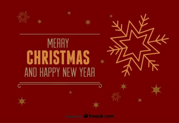 Wesołych świąt i szczęśliwego nowego roku, czerwony, widokówki