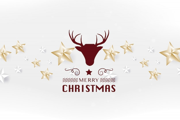 Wesołych świąt i szczęśliwego nowego roku kartkę z życzeniami typografii i szablon ulotki