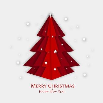 Wesołych świąt i szczęśliwego nowego roku kartkę z życzeniami.