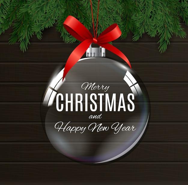 Wesołych świąt i szczęśliwego nowego roku plakatów