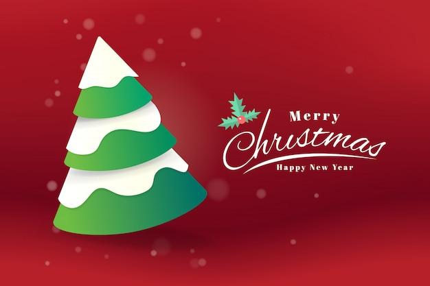 Wesołych świąt i szczęśliwego nowego roku powitanie karta typografia transparent szablon