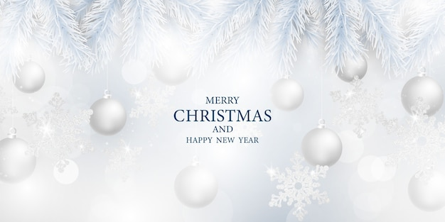 Wesołych świąt i szczęśliwego nowego roku tło. szablon tło uroczystość z. luksusowe powitanie