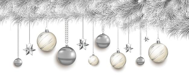 Wesołych świąt i szczęśliwego nowego roku, transparent 2020