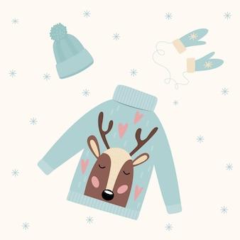 Wesołych świąt kartka tło. boże narodzenie doodlewzór rzemieślniczy. wektor boże narodzenie oryginalny kreatywny szablon karty.