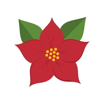 Wesołych świąt liści dekoracji wektor ilustracja projektu