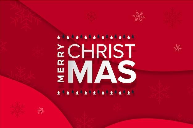 Wesołych świąt napis koncepcja