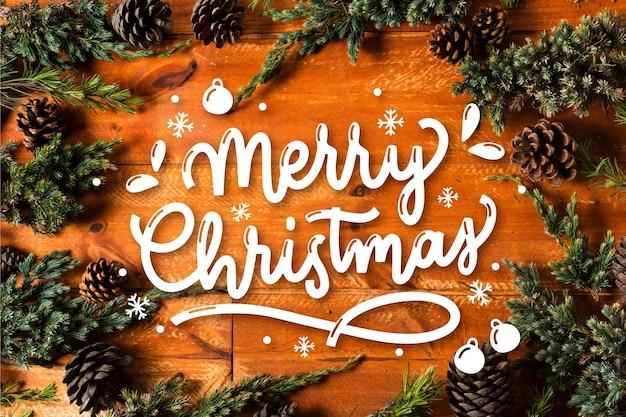 Wesołych świąt - napis