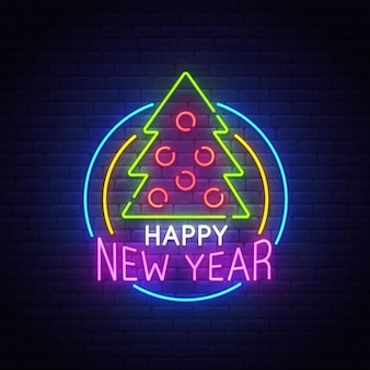 Wesołych świąt neon znak