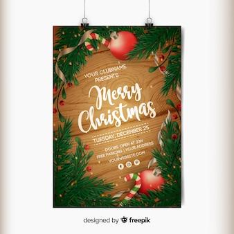 Wesołych świąt plakat