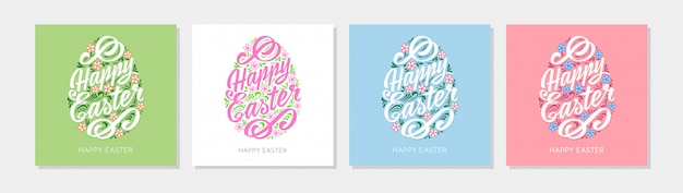 Wesołych świąt szablon karty z pozdrowieniami o różnych kolorach
