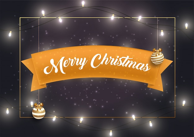 Wesołych świąt z życzeniami szablon wektor