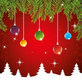 Wesołych świąt życzących karty