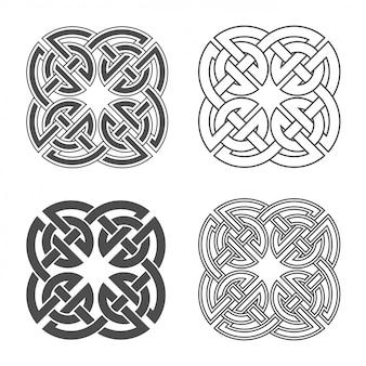 Węzeł celtycki etniczny ornament