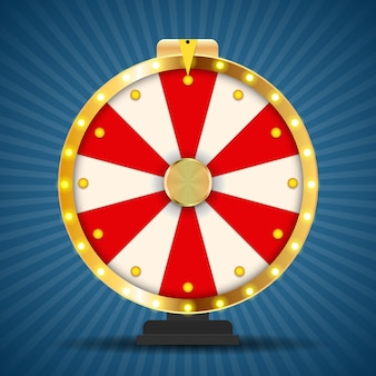 Wheel of fortune, lucky game.