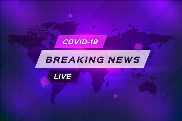 Wiadomości na żywo dotyczące koronawirusa