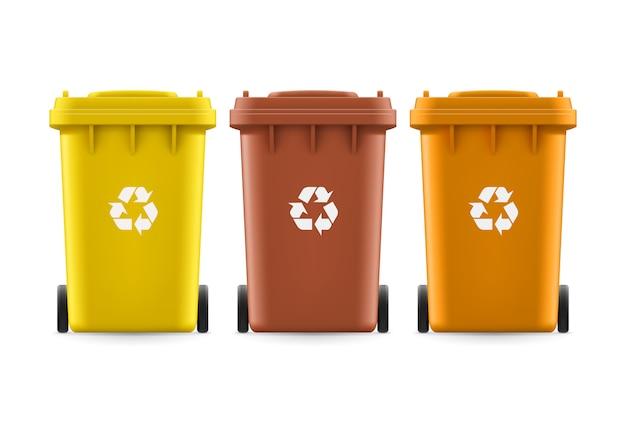Wiadra na śmieci
