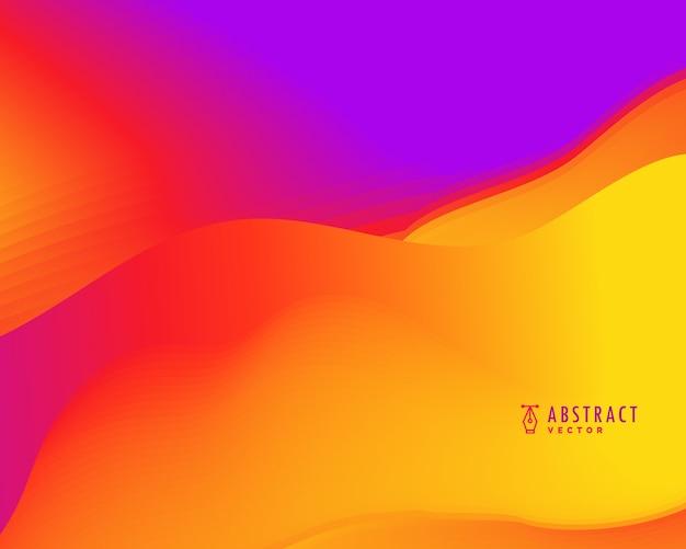 Wibrujący abstrakcyjne tło wektor w jasnych kolorach