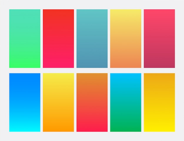 Wibrujący kolorowy tło gradientowe