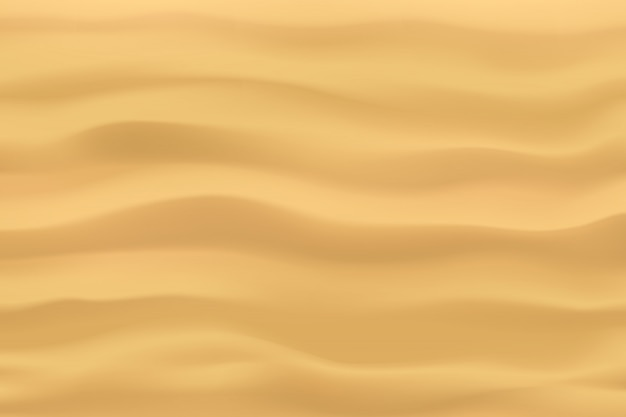 Widok z góry fale piasku