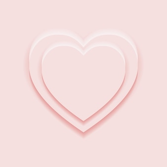 Widok z góry podium z 2 wyświetlaczami w kształcie serca