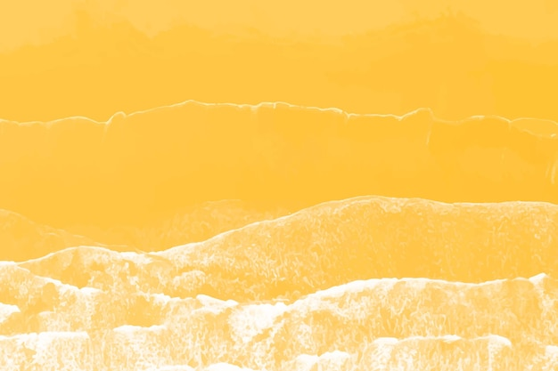 Widok z lotu ptaka na pomarańczową plażę