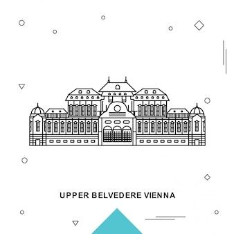 Wiedeń górna belvedere